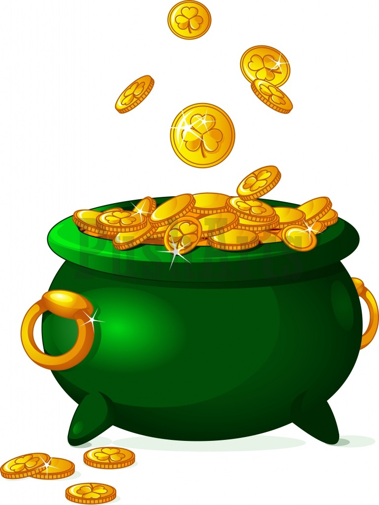 pot of gold pusharts royalty free stock illustrations pot of gold clipart free pot of gold clipart drawing