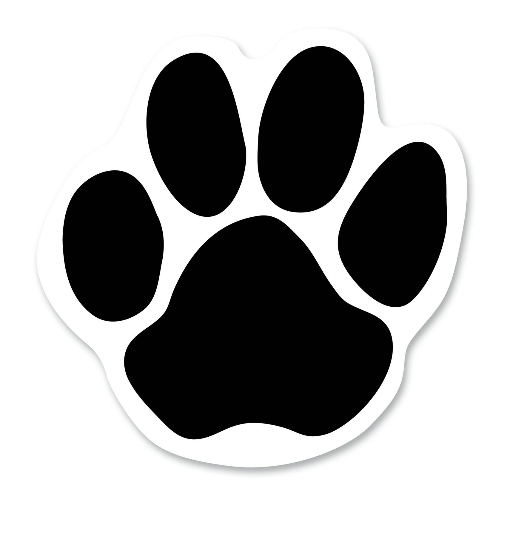 Printable Dog Paw Print Template