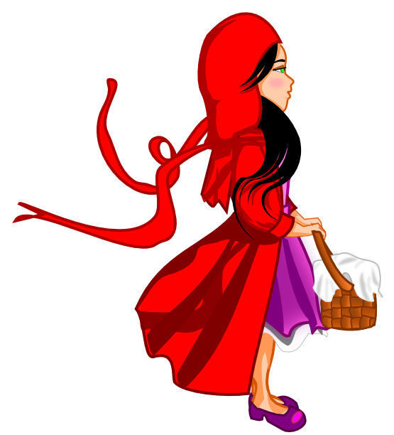 Red Riding Hood Clip Art - ClipArt Best