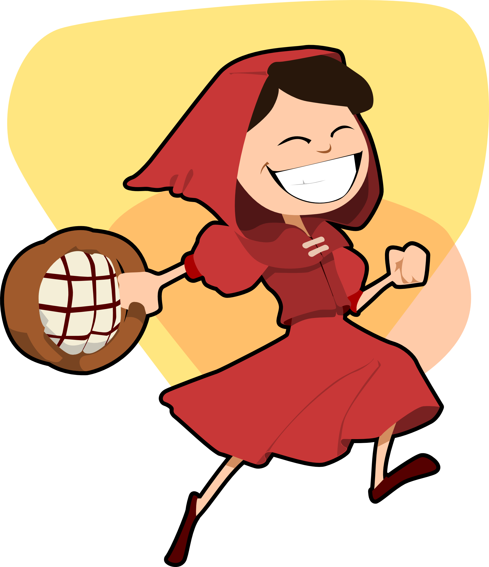 little red riding hood scalable vector graphics ... - ClipArt Best ...