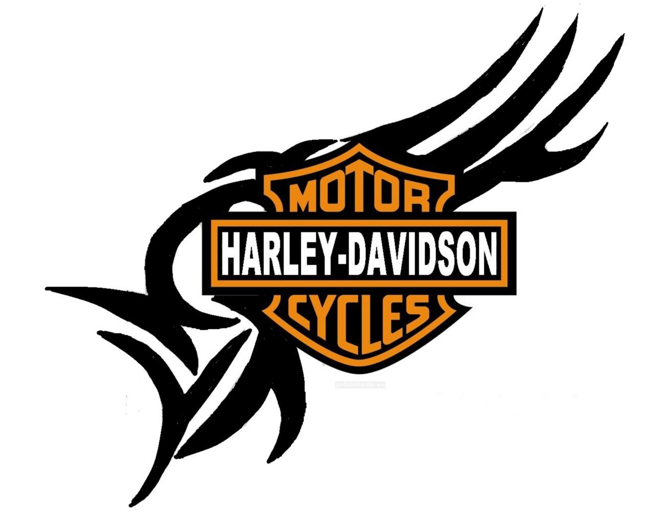 Harley Davidson Logos Free  Clipartsco