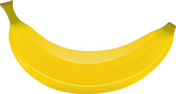 Banana clip art - vector clip art online, royalty free & public domain
