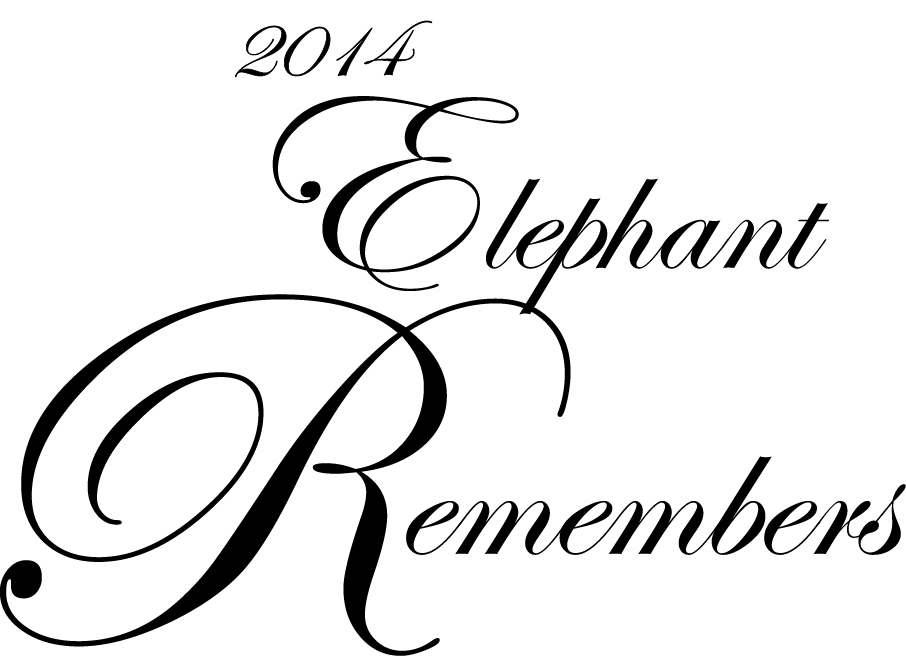 Thank You's from the 2014 DCRP Elephant Remembers
