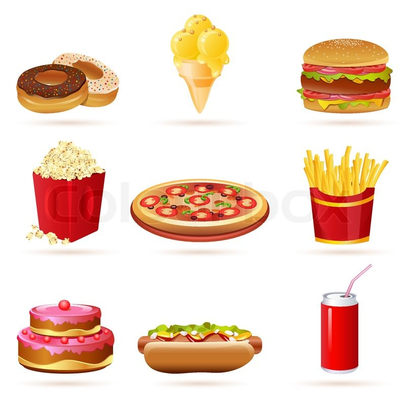 Images Of Unhealthy Food - Cliparts.co