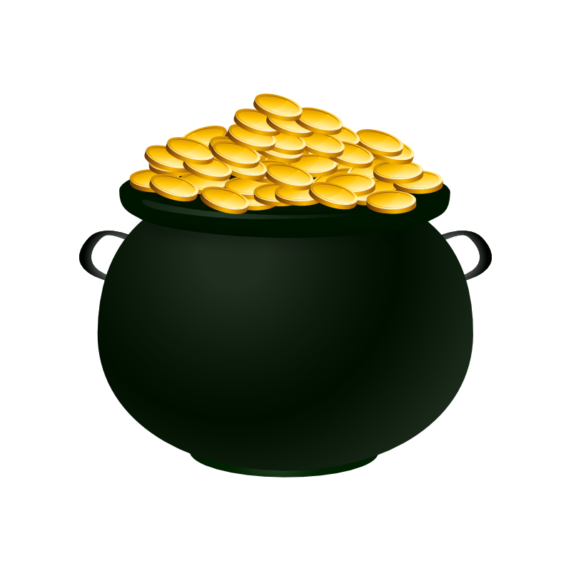 Pictures Of A Pot Of Gold - Cliparts.co |Pot Of Gold Clipart