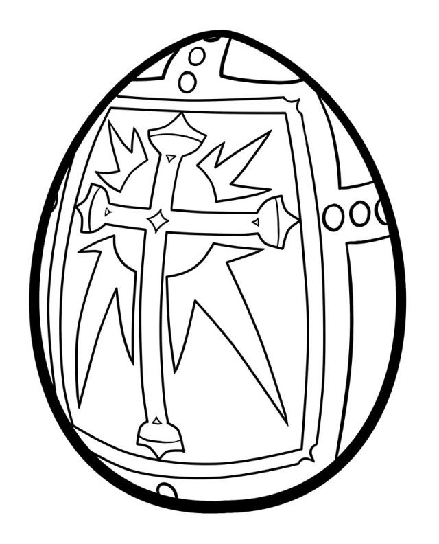 holy cross coloring pages - photo#9