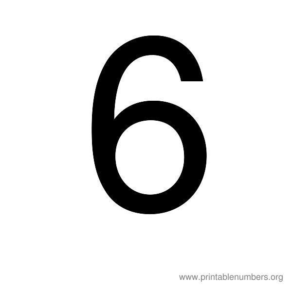 Printable Numbers 1-20 | Printable Numbers Org