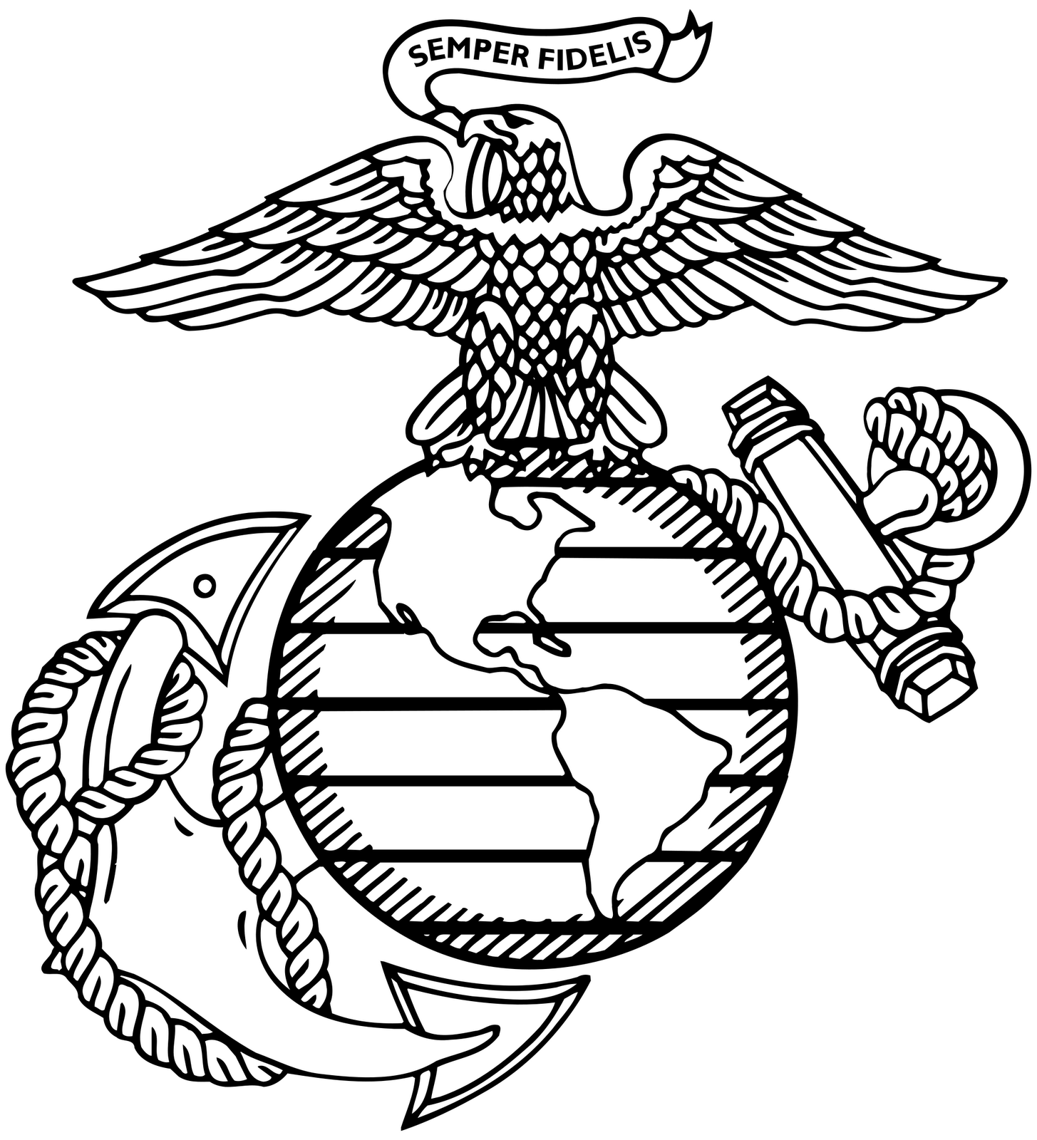 Dynamite image with regard to printable marine corps emblem