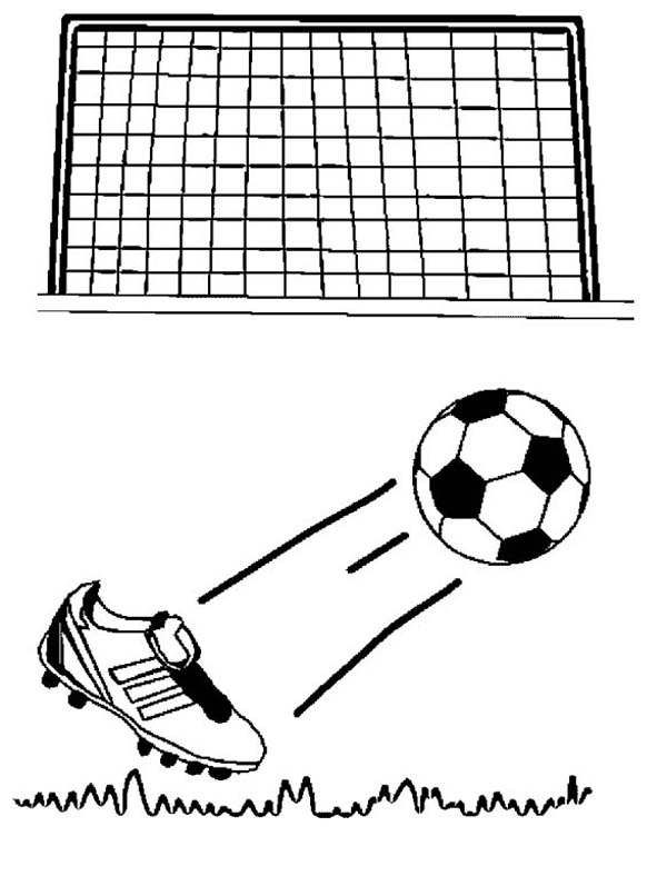 soccer game coloring pages - photo#32