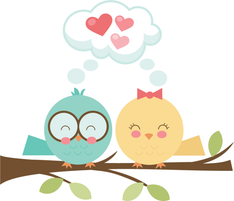 Clip Art Love Birds