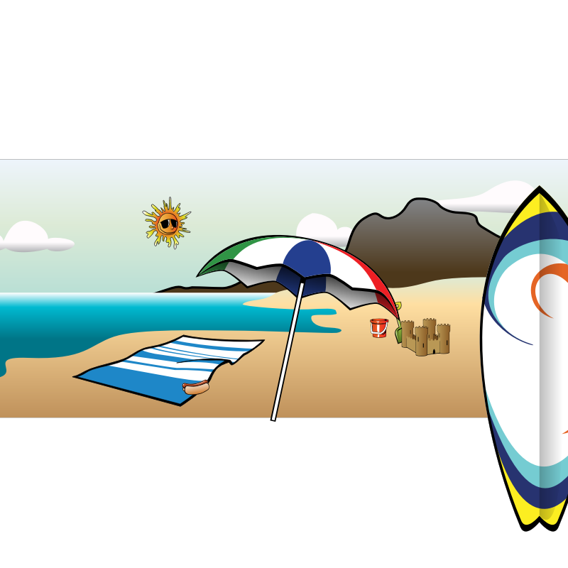 summer vacation clipart - photo #42