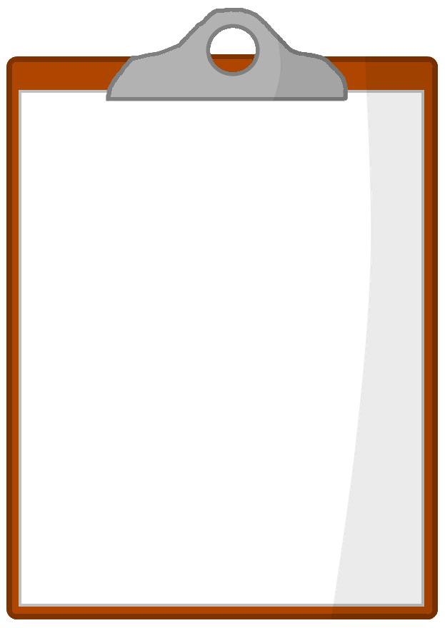 Image - Clipboard.png - Battle For Dream Island Fan Fiction Wiki