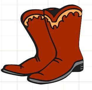 Cowgirl Boots Clip Art - Cliparts.co