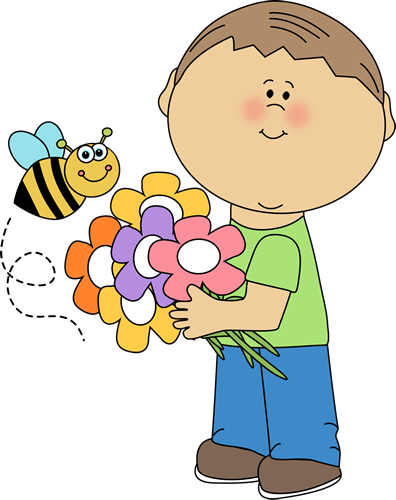 Image result for spring clip art with kids