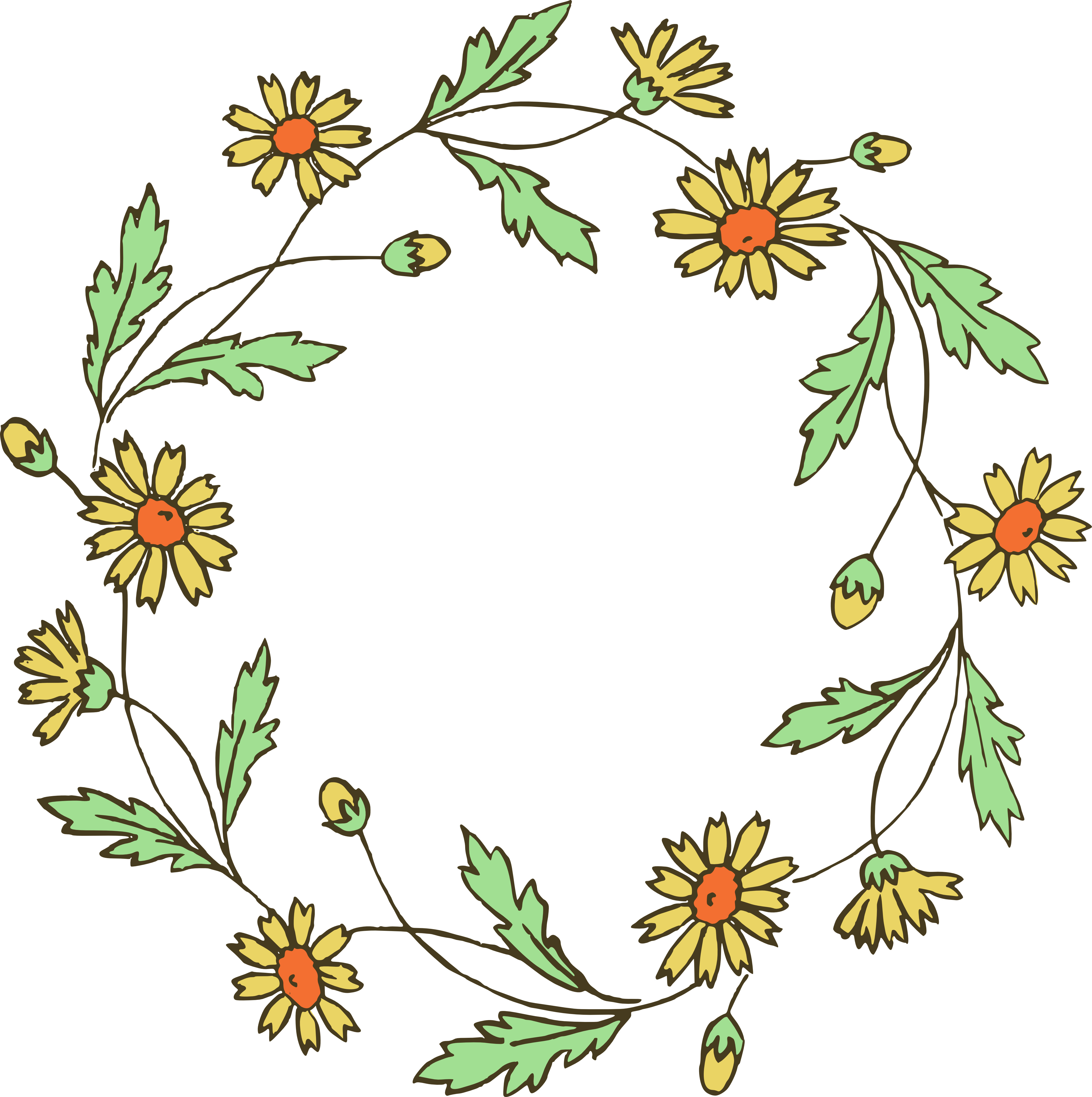 Free Floral Vector Art - Cliparts.co