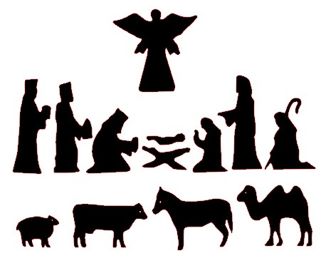 Christmas Nativity Clip Art - ClipArt Best