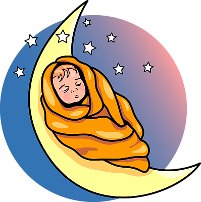 Sleeping Baby Clipart - Cliparts.co