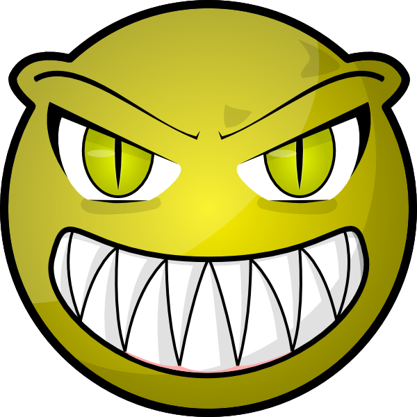 60 images of Cartoon Scary Faces . You can use these free cliparts for ...