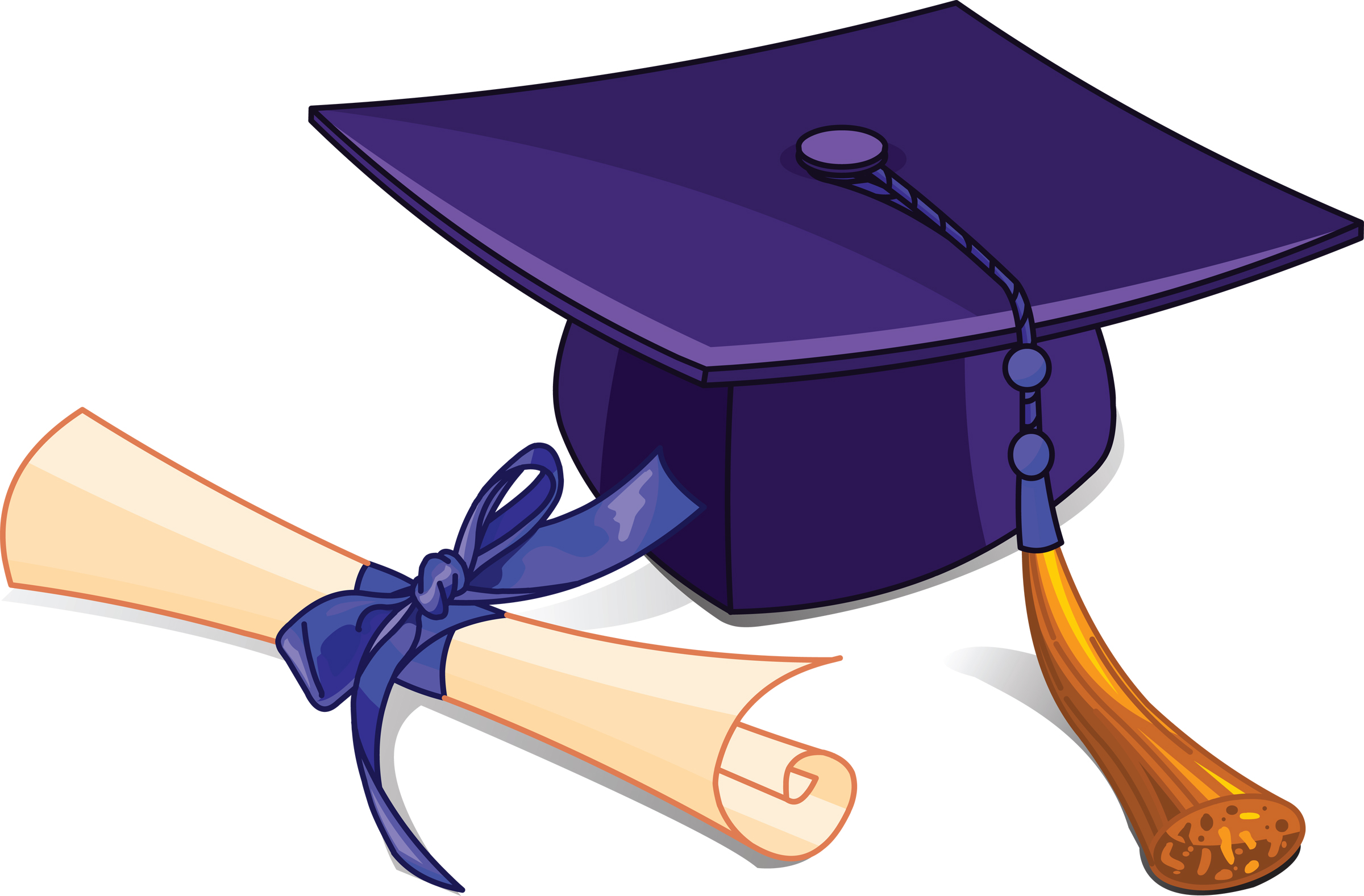 Free High School Graduation Clip Art - Cliparts.co