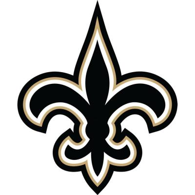 Fathead 40 in. x 49 in. New Orleans Saints Logo Wall Decal-FH14 ...