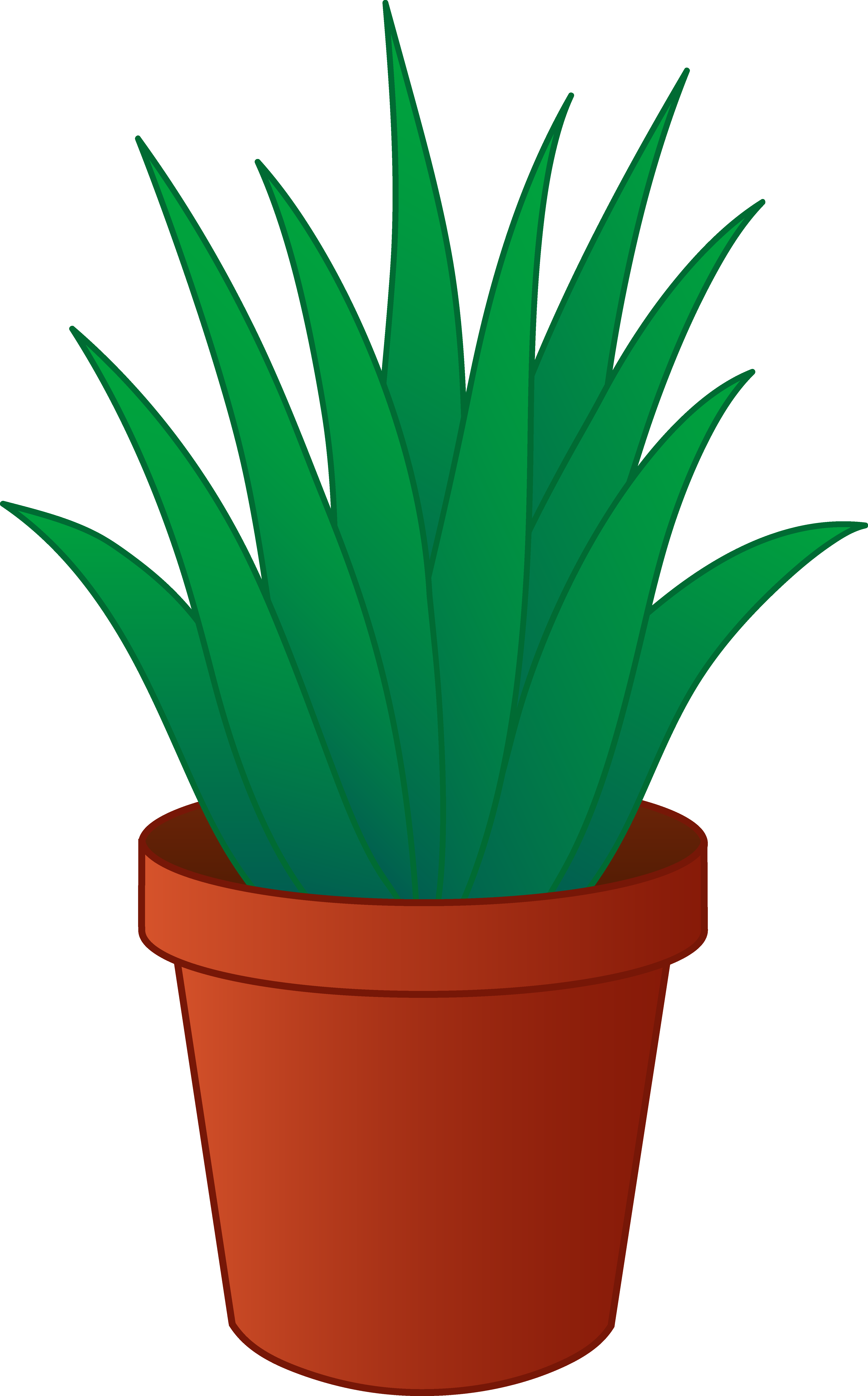 Pictures Of Potted Plants - Cliparts.co