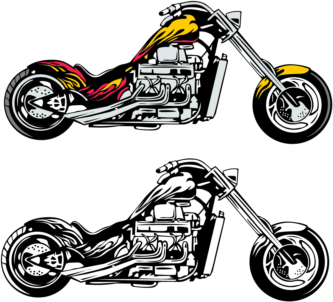 Motorcycle Chopper Clipart Background 1 HD Wallpapers | lzamgs.