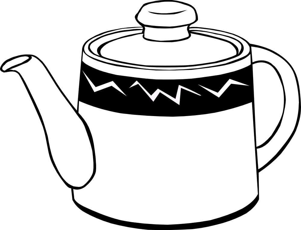free black white food clipart images - photo #18
