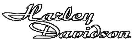 Harley Davidson Fonts Cliparts Co