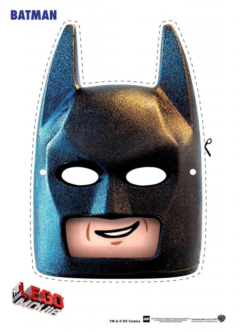 How To Make A Batman Lego Movie Mask And Costume Ken Krogue - Cliparts.co