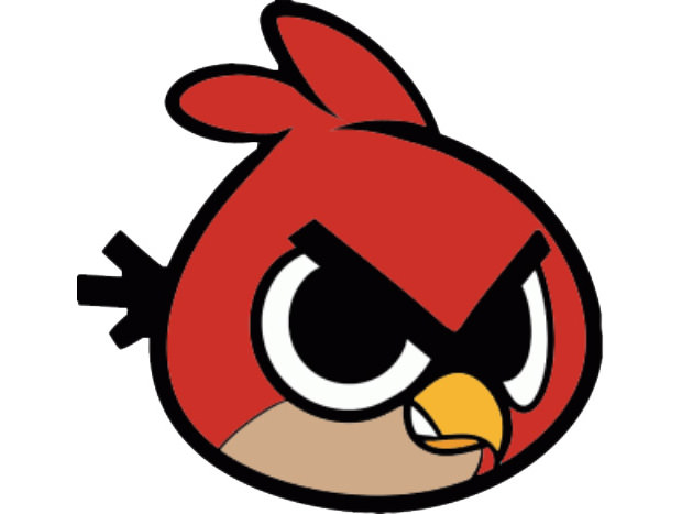 Create an Angry Bird Character in Photoshop Version 2 | Supercolortuts