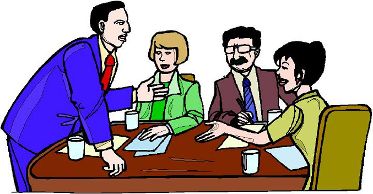 Pix For > Staff Meeting Clipart