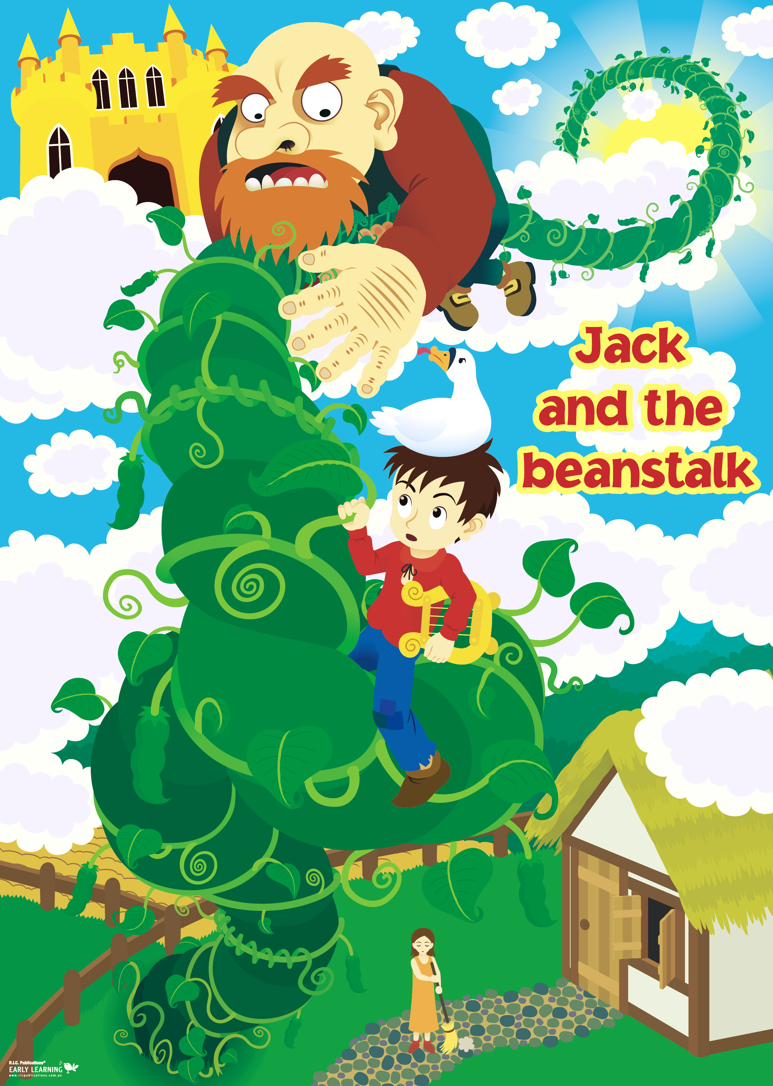Watch more like Jack And The Beanstalk Art Activities