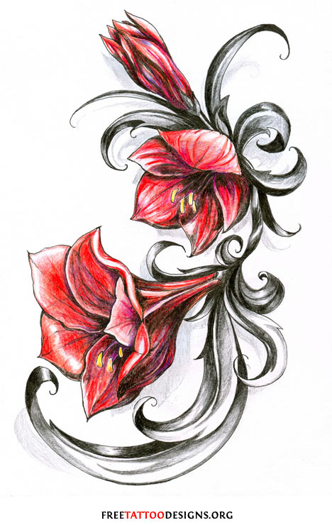 Flowers Tattoos - Cliparts.co