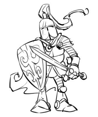 Knight Armor Tattoo