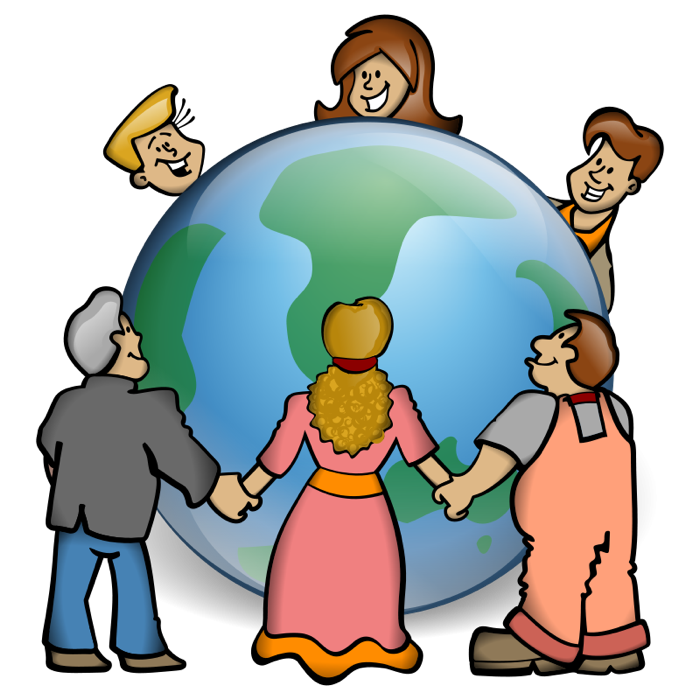 Free Clipart Of Children Helping Others | Free Images at Clker.com - vector clip  art online, royalty free & public domain