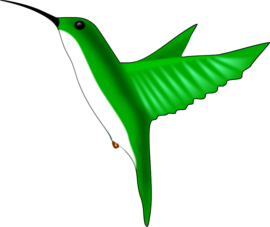 Hummingbird Clipart Vector Clip Art Online Royalty Free