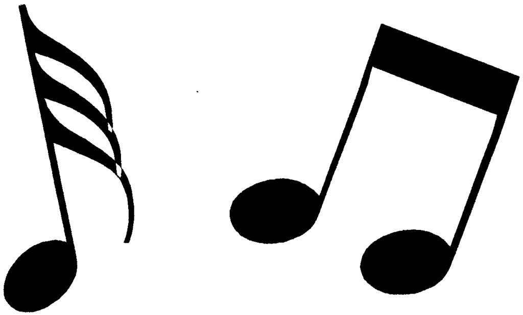 Music Notes Clipart Black And White | Clipart Panda - Free Clipart ...