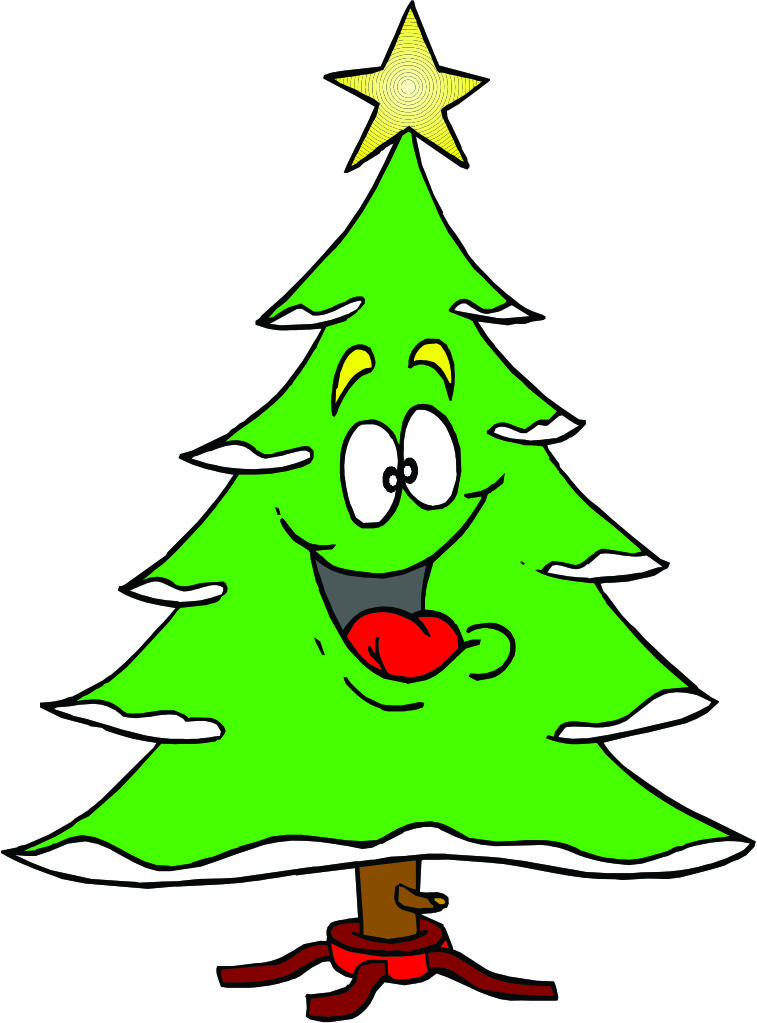 Cartoon Christmas Tree | quotes.