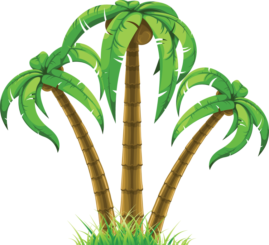 Summer Trees Clipart