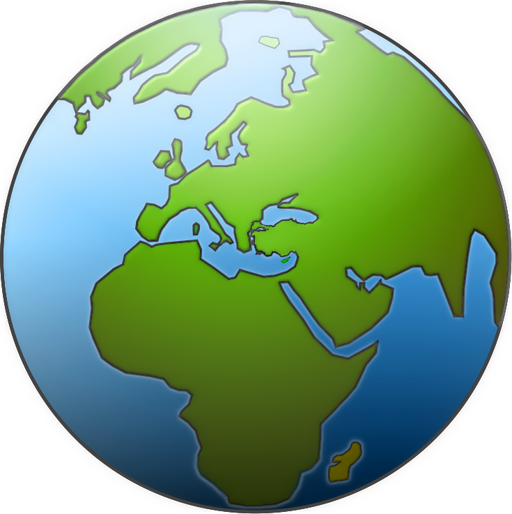 Earth Globe Clipart