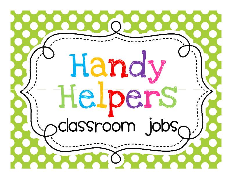 Classroom Jobs Clipart - Cliparts.co