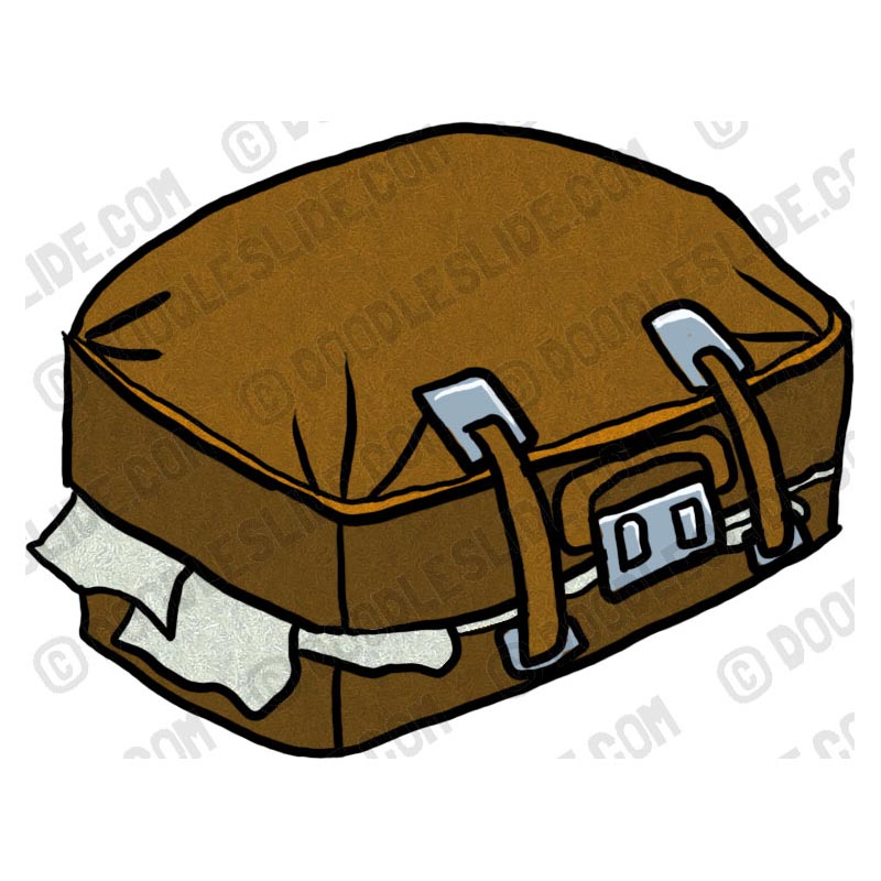 kid with suitcase clipart - Clip Art Library