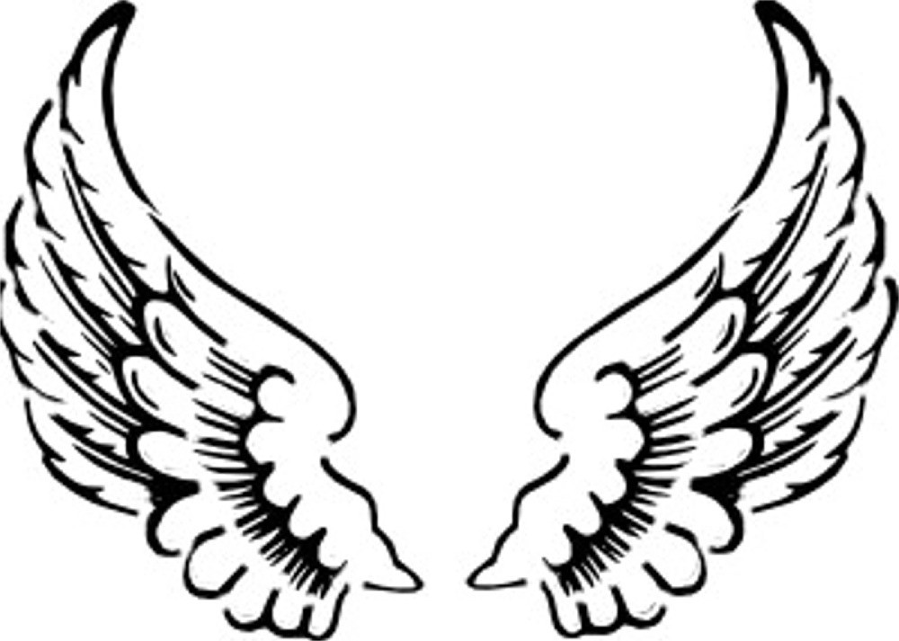 Free Inspired: clip art angel wings