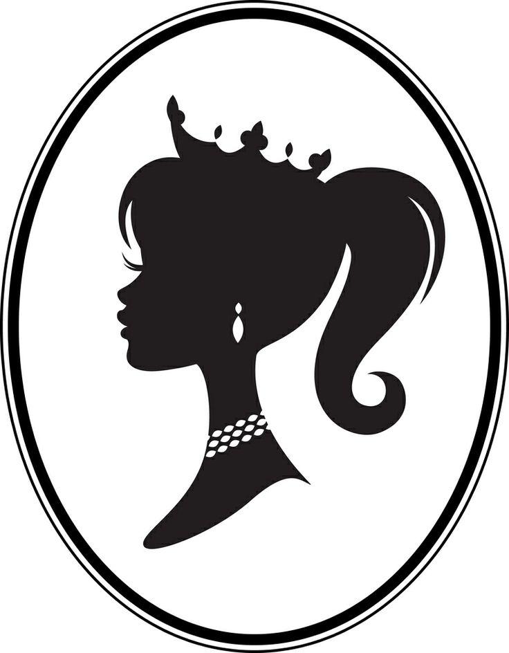 Princess crown silhouette clip art - photo#12