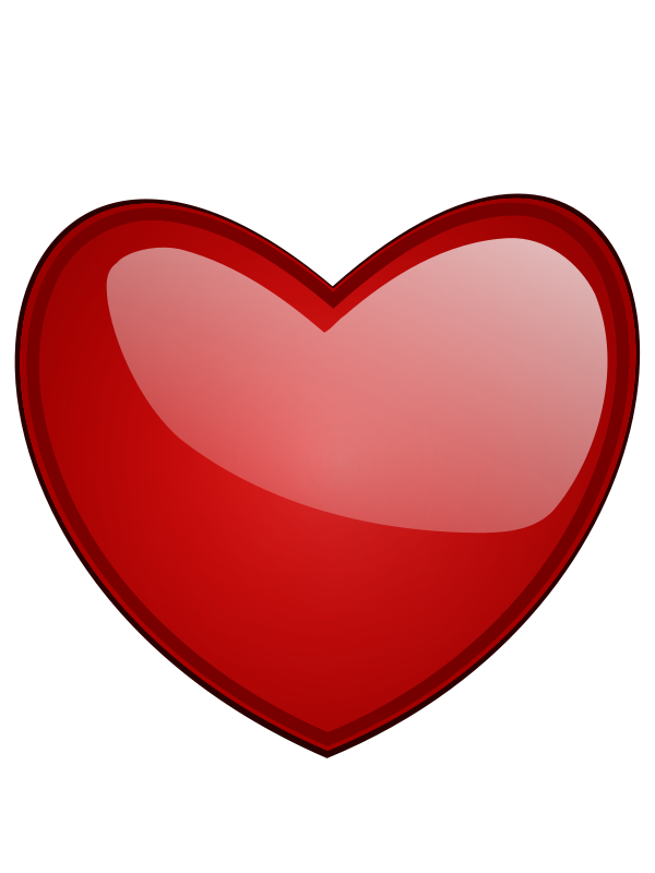 Glossy Red Heart Free ClipArt & Clip Art Images - ClipArt Best ...