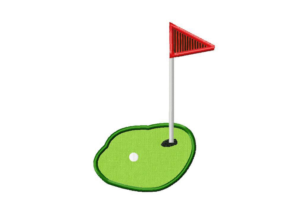 Free Golf Machine Embroidery Designs