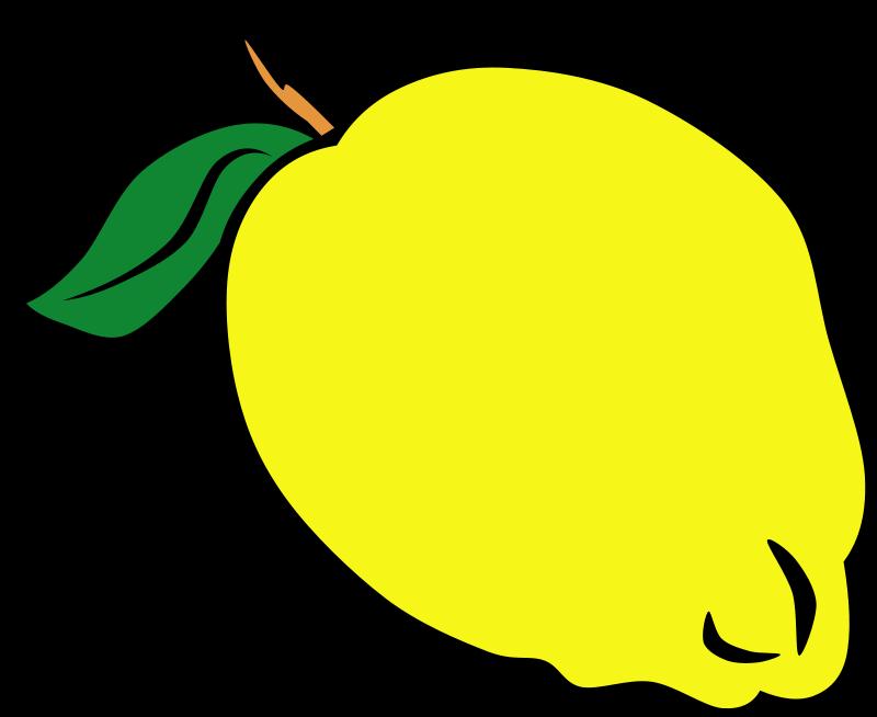free clip art lemon slice - photo #34