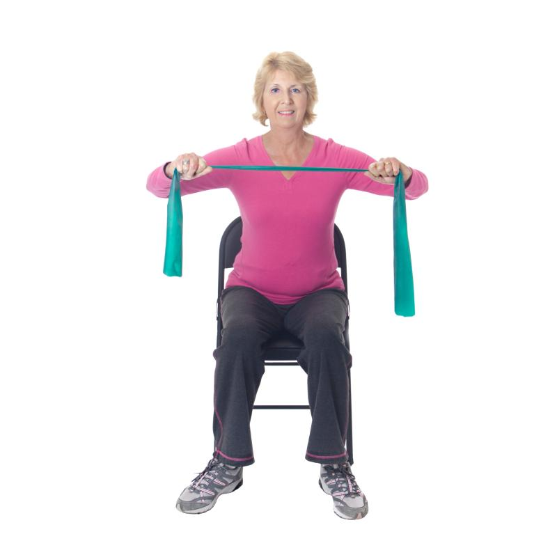 Senior Chair Yoga Exercises Images
