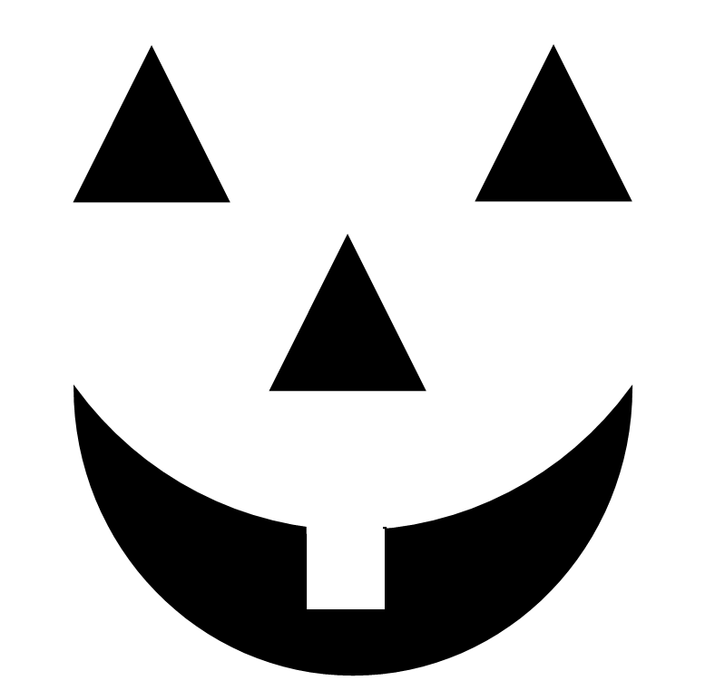 Black And White Pumpkin Clip Art - Cliparts.co