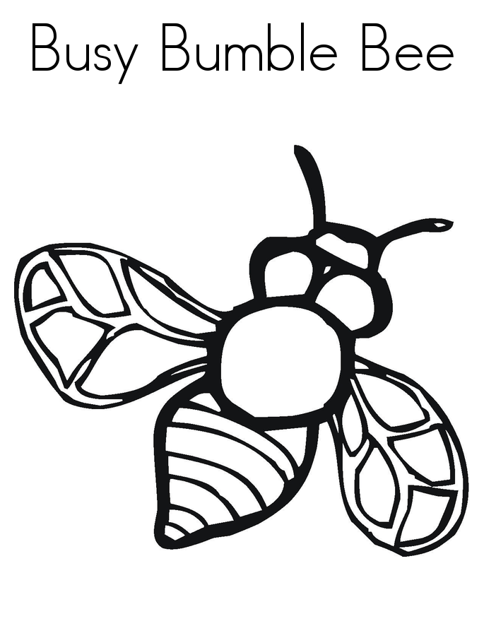 clip art bumble bee clipartsco